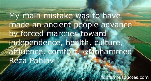 Mohammed Reza Pahlavi Quotes