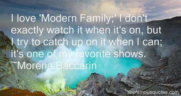 Morena Baccarin Quotes
