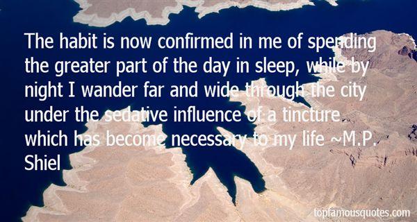 M.P. Shiel Quotes