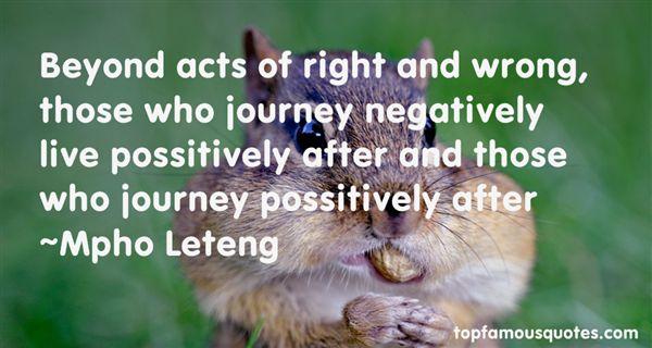 Mpho Leteng Quotes
