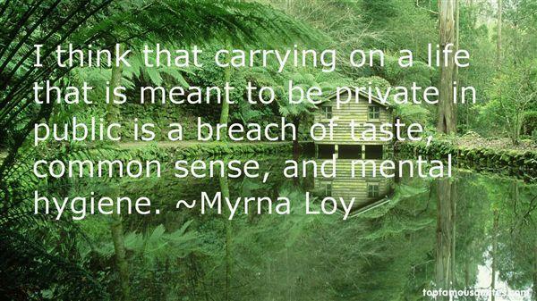 Myrna Loy Quotes