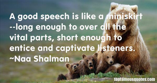 Naa Shalman Quotes