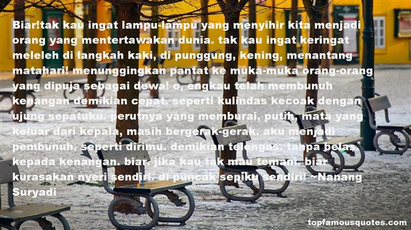 Nanang Suryadi Quotes