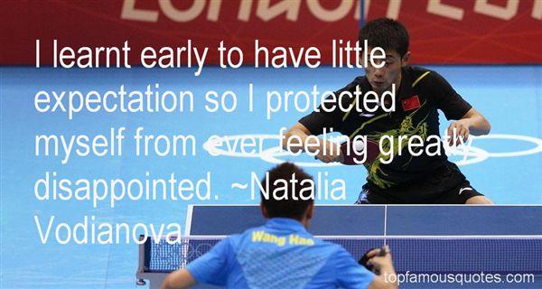 Natalia Vodianova Quotes
