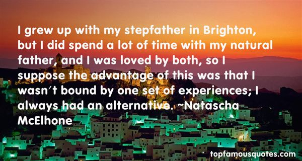 Natascha McElhone Quotes