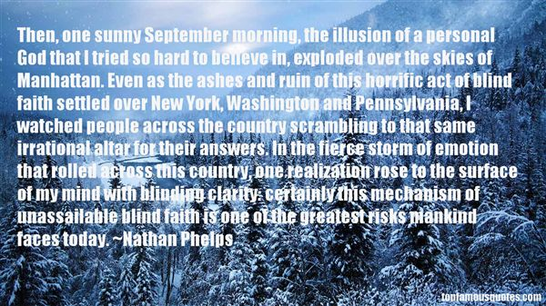 Nathan Phelps Quotes