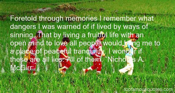 Nicholas A. McGirr Quotes