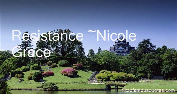 Nicole Grace Quotes