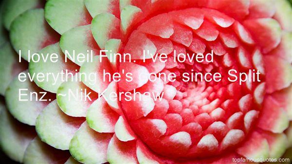 Nik Kershaw Quotes