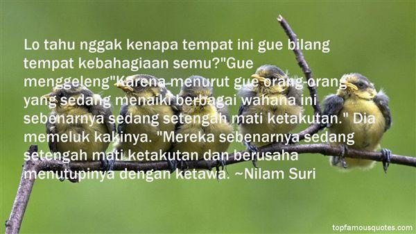 Nilam Suri Quotes