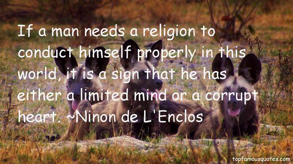 Ninon De L'Enclos Quotes