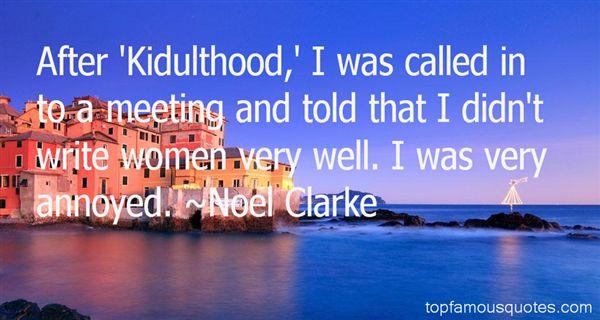 Noel Clarke Quotes