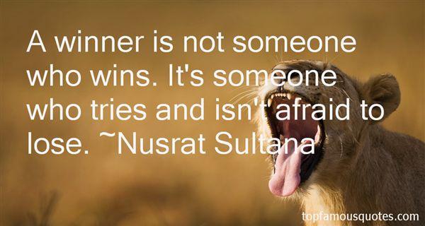 Nusrat Sultana Quotes