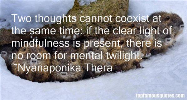 Nyanaponika Thera Quotes