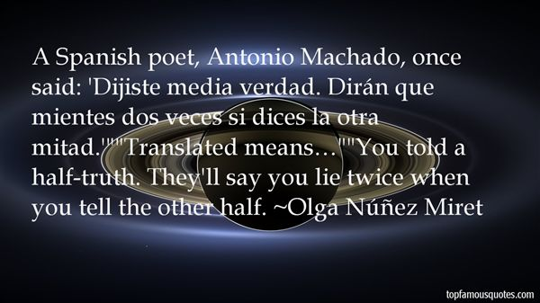 Olga Núñez Miret Quotes