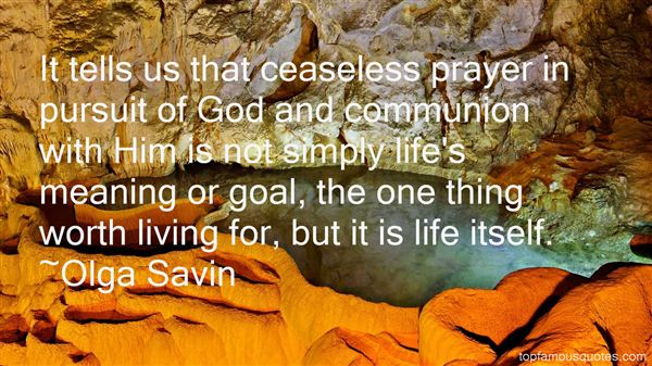 Olga Savin Quotes