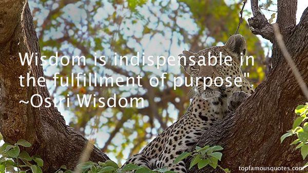 Osiri Wisdom Quotes