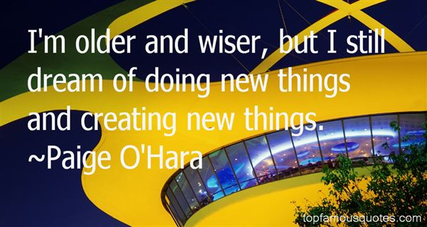 Paige O'Hara Quotes