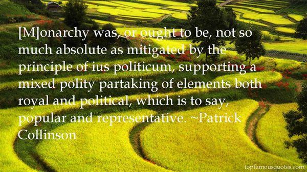 Patrick Collinson Quotes