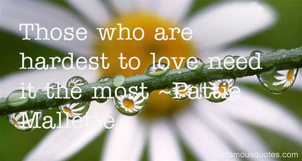 Pattie Mallette Quotes