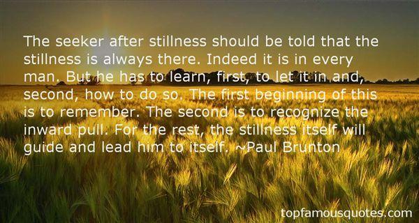 Paul Brunton Quotes
