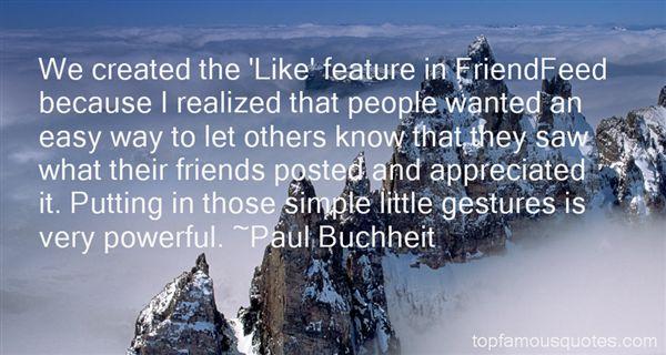 Paul Buchheit Quotes