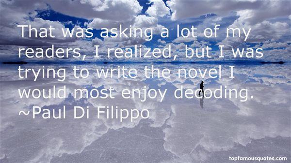 Paul Di Filippo Quotes