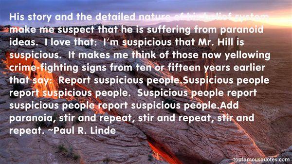 Paul R. Linde Quotes