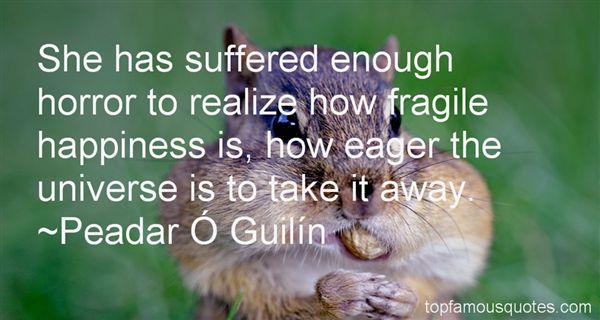 Peadar Ó Guilín Quotes