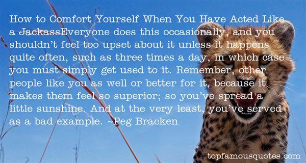 Peg Bracken Quotes