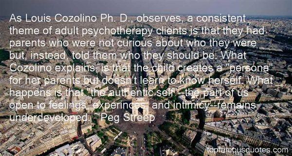 Peg Streep Quotes