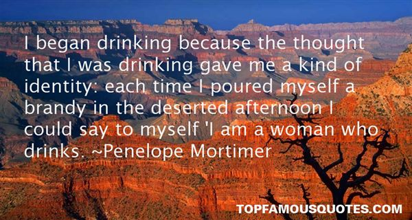 Penelope Mortimer Quotes