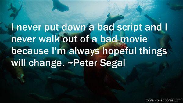 Peter Segal Quotes