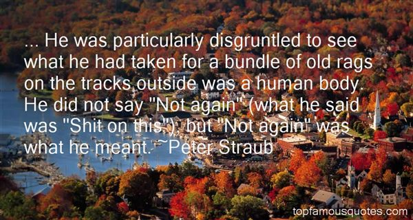 Peter Straub Quotes