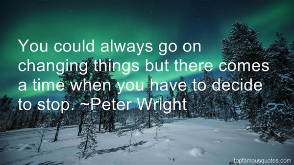 Peter Wright Quotes