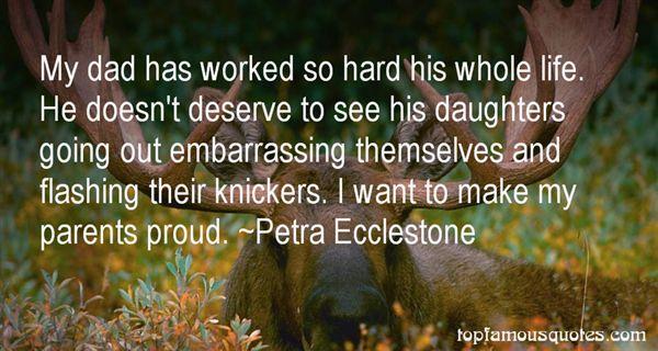 Petra Ecclestone Quotes