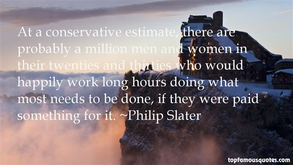 Philip Slater Quotes
