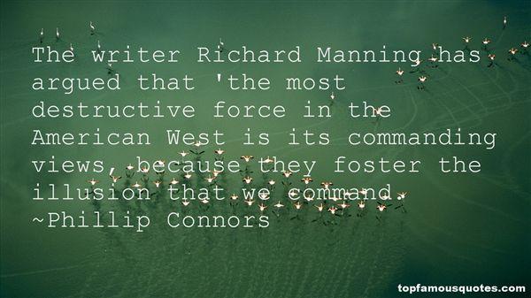Phillip Connors Quotes