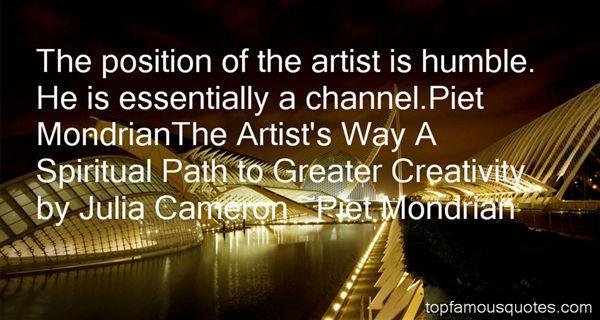 Piet Mondrian Quotes