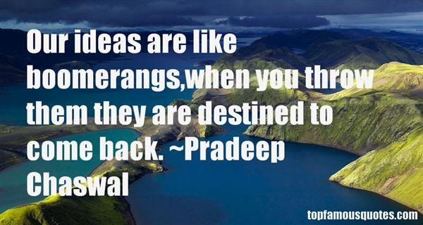 Pradeep Chaswal Quotes