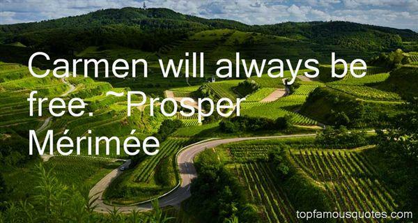 Prosper Mérimée Quotes