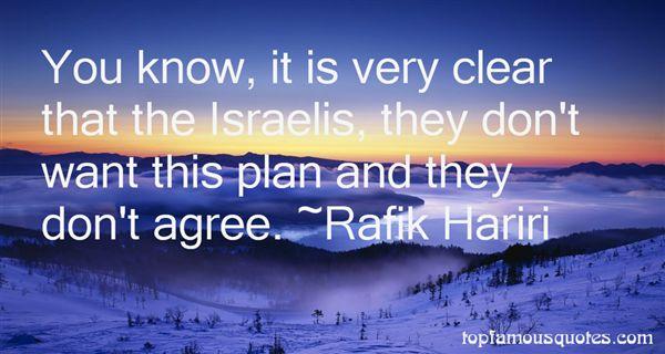 Rafik Hariri Quotes