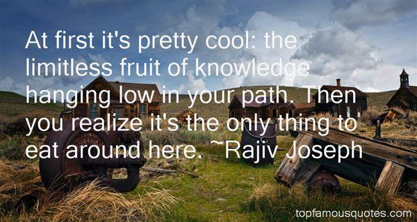 Rajiv Joseph Quotes