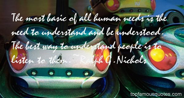 Ralph G. Nichols Quotes