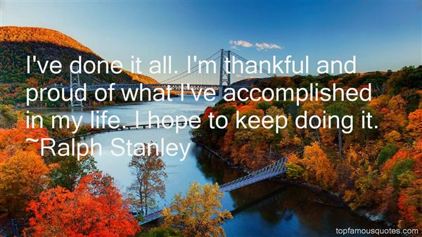 Ralph Stanley Quotes