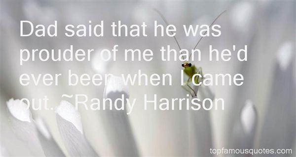 Randy Harrison Quotes