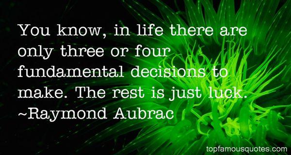 Raymond Aubrac Quotes