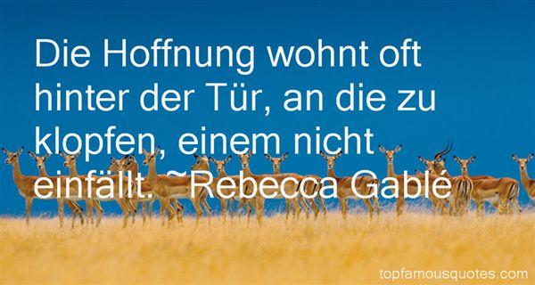 Rebecca Gablé Quotes