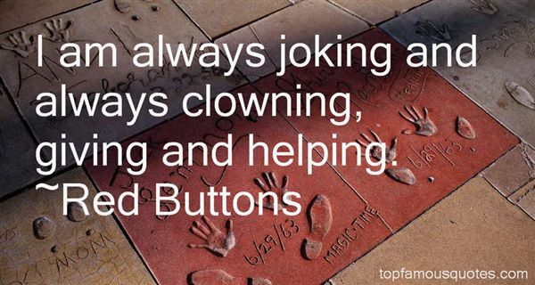 Red Buttons Quotes