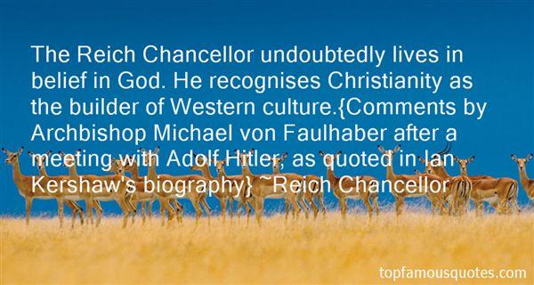Reich Chancellor Quotes